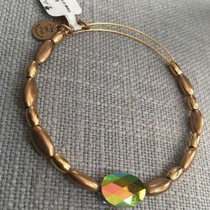 Alex and Ani Ahead of the curve gold bracelet